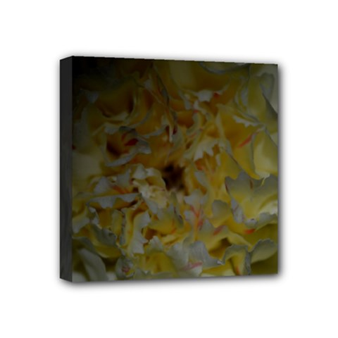 Yellow Flower Mini Canvas 4  X 4  by timelessartoncanvas