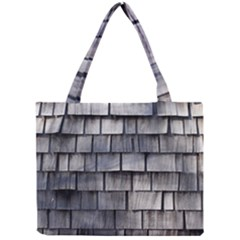 Weathered Shingle Tiny Tote Bags by trendistuff