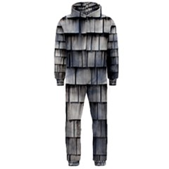 Weathered Shingle Hooded Jumpsuit (men)  by trendistuff