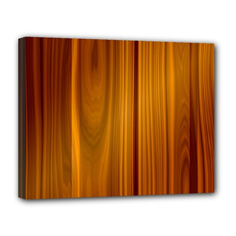 Shiny Striated Panel Canvas 14  X 11  by trendistuff