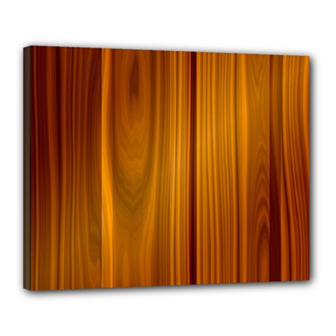 Shiny Striated Panel Canvas 20  X 16  by trendistuff