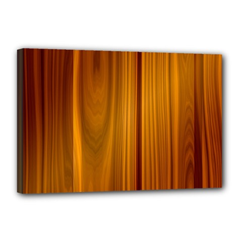 Shiny Striated Panel Canvas 18  X 12  by trendistuff