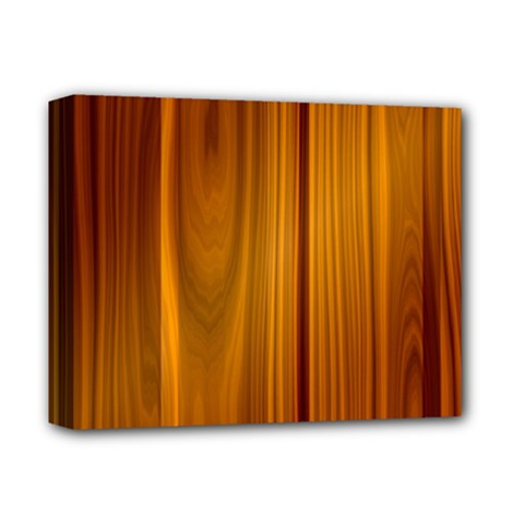 Shiny Striated Panel Deluxe Canvas 14  X 11  by trendistuff