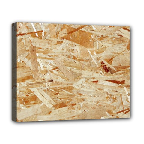 Osb Plywood Deluxe Canvas 20  X 16   by trendistuff
