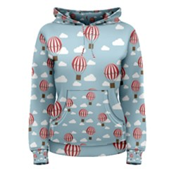 Hot Air Balloon Women s Pullover Hoodies by Kathrinlegg