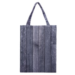 Grey Fence Classic Tote Bags by trendistuff