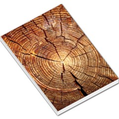 Cross Section Of An Old Tree Large Memo Pads