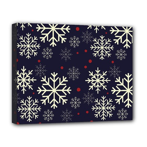 Snowflake Deluxe Canvas 20  X 16   by Kathrinlegg