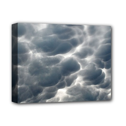Storm Clouds 2 Deluxe Canvas 14  X 11  by trendistuff