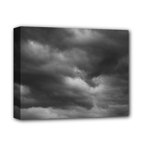 Storm Clouds 1 Deluxe Canvas 14  X 11  by trendistuff