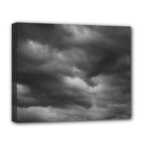 Storm Clouds 1 Deluxe Canvas 20  X 16   by trendistuff