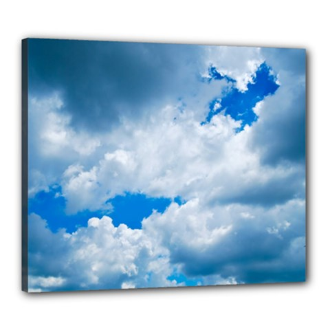 Cumulus Clouds Canvas 24  X 20  by trendistuff