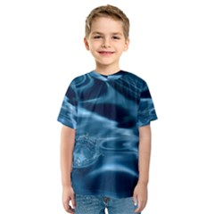 Water Ripples 1 Kid s Sport Mesh Tees by trendistuff
