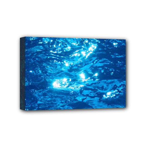 Light On Water Mini Canvas 6  X 4  by trendistuff