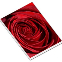 Beautifully Red Large Memo Pads