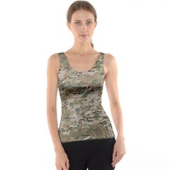 Camo Woodland Faded Tank Top by trendistuff