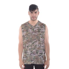 Camo Woodland Faded Men s Basketball Tank Top by trendistuff