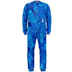 Turquoise Glass Onepiece Jumpsuit (men)  by trendistuff