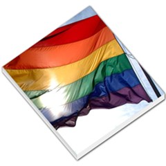 Pride Flag Small Memo Pads by trendistuff