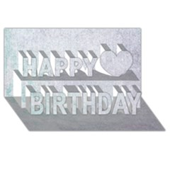 Paper Colors Happy Birthday 3d Greeting Card (8x4)  by trendistuff