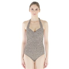 Women s Halter One Piece Swimsuit by trendistuff
