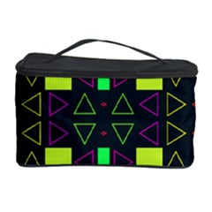 Triangles And Squares Cosmetic Storage Case by LalyLauraFLM