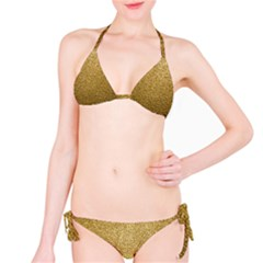 Gold Plastic Bikini Set by trendistuff