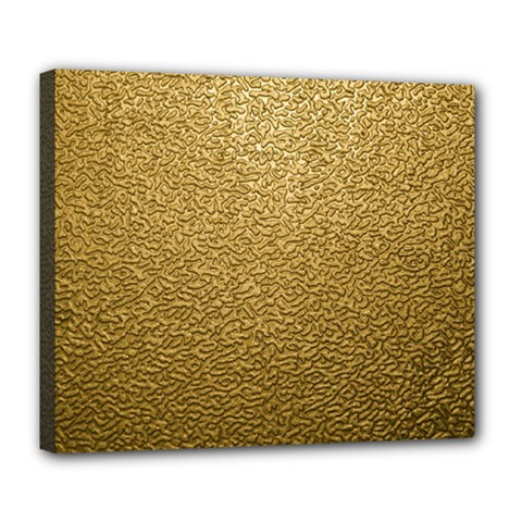 Gold Plastic Deluxe Canvas 24  X 20   by trendistuff