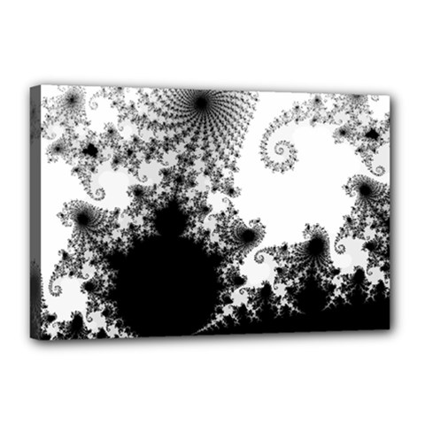 Fractal Canvas 18  X 12  by trendistuff
