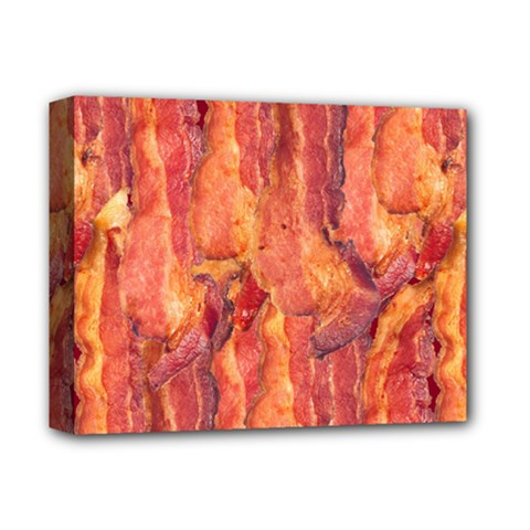 Bacon Deluxe Canvas 14  X 11  by trendistuff