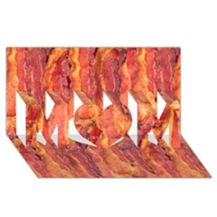 Bacon Mom 3d Greeting Card (8x4)  by trendistuff