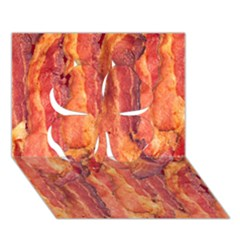 Bacon Clover 3d Greeting Card (7x5)  by trendistuff