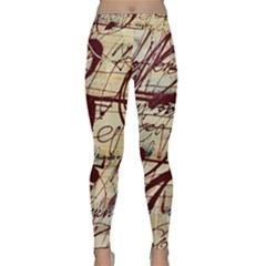 Abstract 2 Yoga Leggings by trendistuff