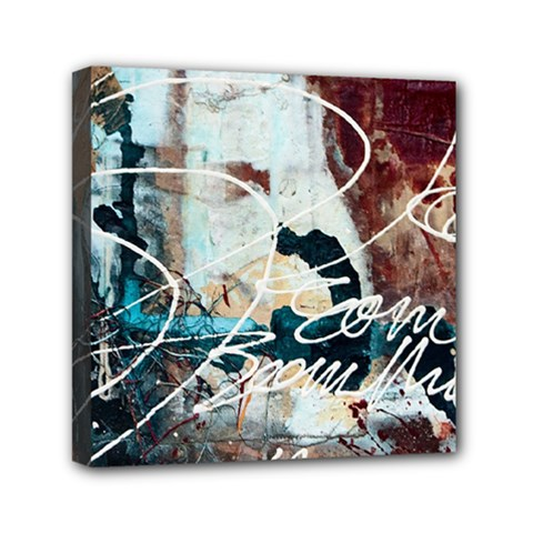 Abstract 1 Mini Canvas 6  X 6  by trendistuff