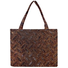 Rusty Metal Pattern Tiny Tote Bags by trendistuff