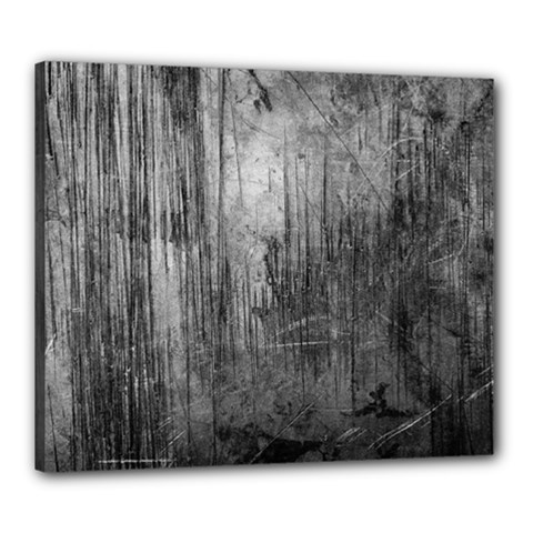 Grunge Metal Night Canvas 24  X 20  by trendistuff