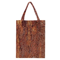 Flaky Rusting Metal Classic Tote Bags by trendistuff