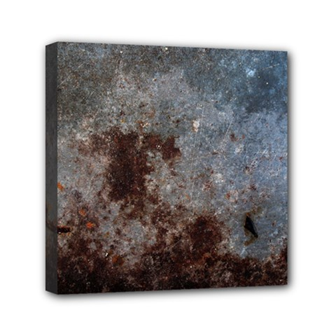 Corrosion 1 Mini Canvas 6  X 6  by trendistuff