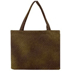 Reptile Skin Tiny Tote Bags by trendistuff