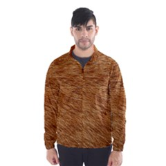 Light Brown Fur Wind Breaker (men) by trendistuff