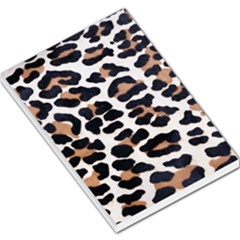 Black And Brown Leopard Large Memo Pads by trendistuff