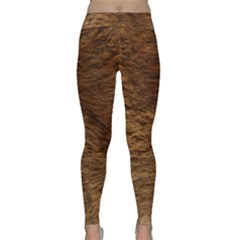 Bear Fur Yoga Leggings by trendistuff