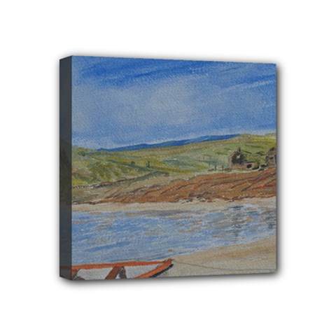 Boatonthebeach 15x10 Mini Canvas 4  X 4  by JDDesigns