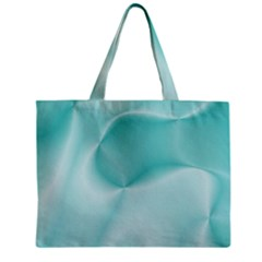 Colors In Motion,teal Zipper Tiny Tote Bags by MoreColorsinLife