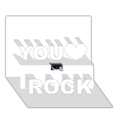 Collage Mousepad You Rock 3d Greeting Card (7x5)  by ramisahki
