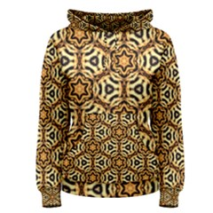 Faux Animal Print Pattern Women s Pullover Hoodies