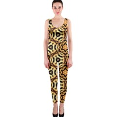 Faux Animal Print Pattern Onepiece Catsuits by creativemom