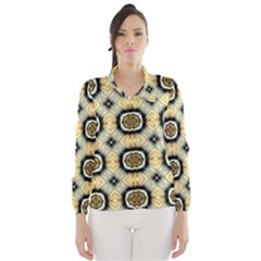 Faux Animal Print Pattern Wind Breaker (women)