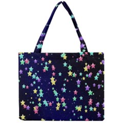 Pretty Stars Pattern Tiny Tote Bags by LovelyDesigns4U