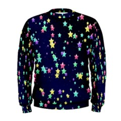 Pretty Stars Pattern Men s Sweatshirts